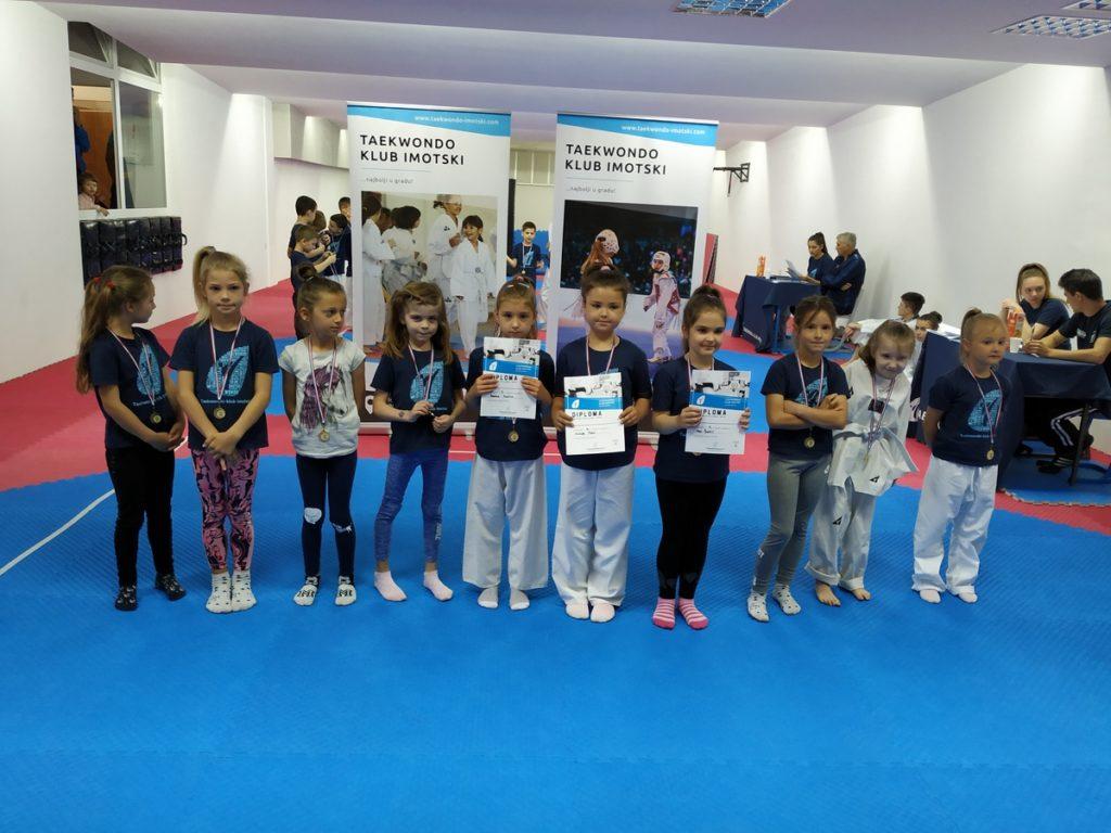 Taekwondo natjecanje djece Imotske krajine