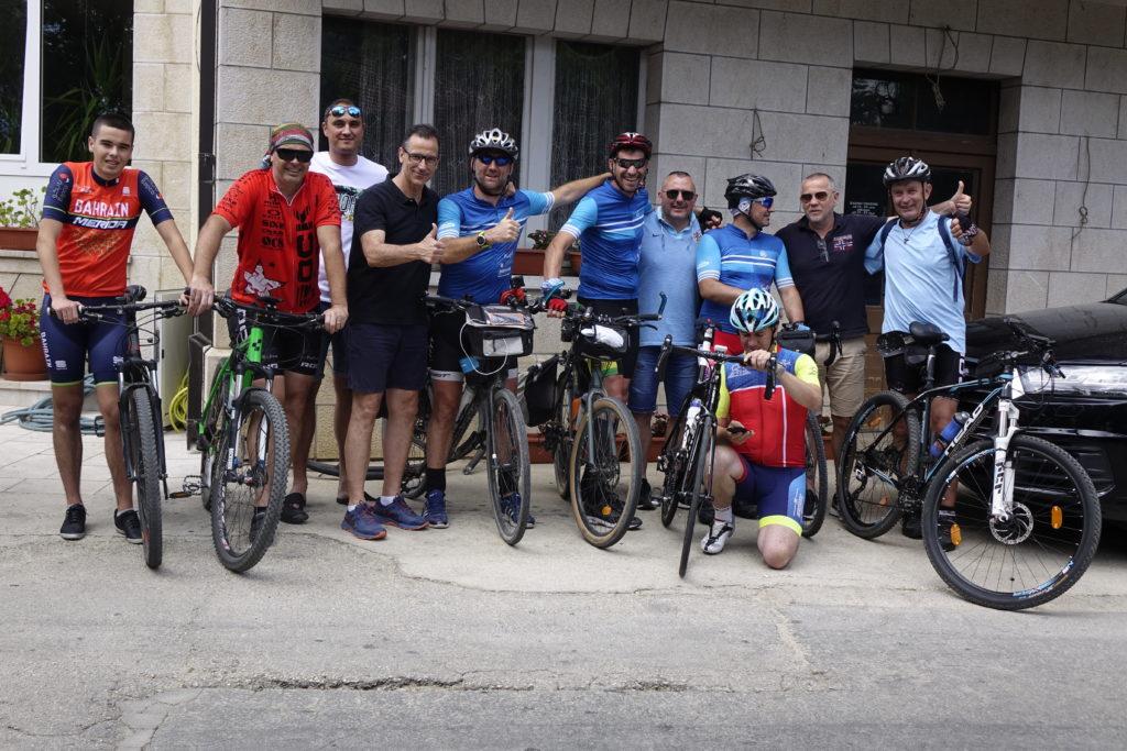 Ekipa biciklista stigla u Imotski