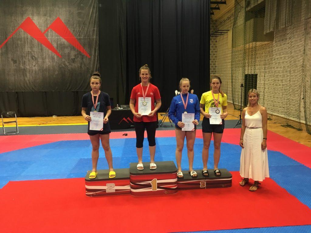 Sjajan rezultat s kadetskog taekwondo prvenstva Hrvatske