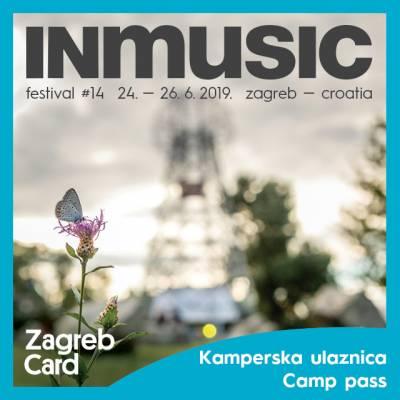 INmusic 2019 – sedmodnevna kamperska ulaznica (250 kn)