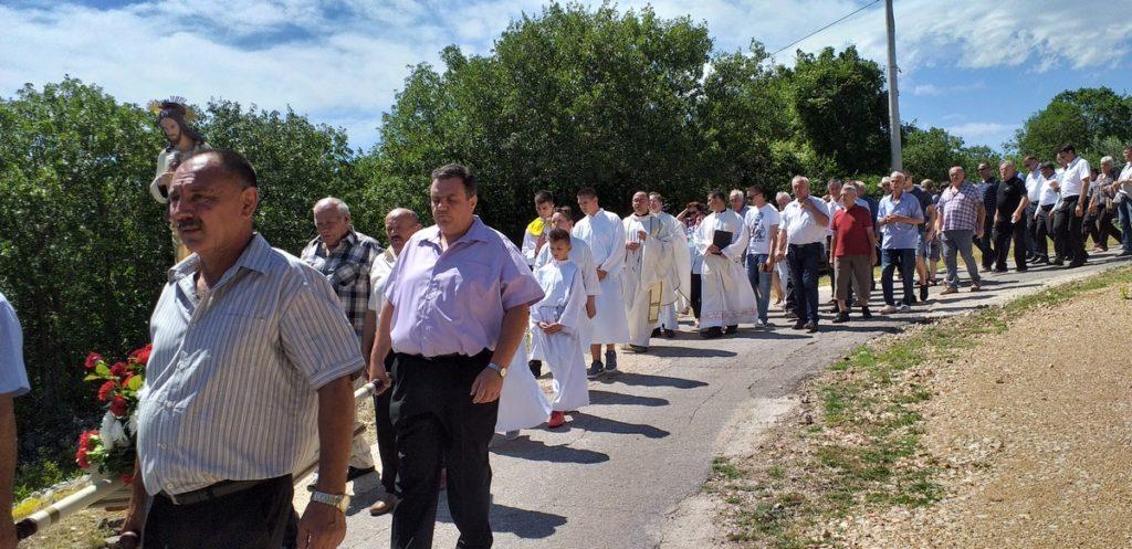 Obilježen blagdan Presvetog Srca Isusova u Krstaticama