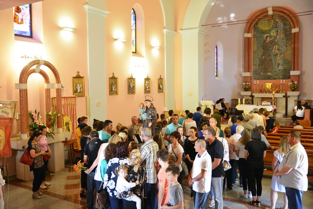 Blagdan sv. Ante svečano obilježen u Vinjanima Gornjim