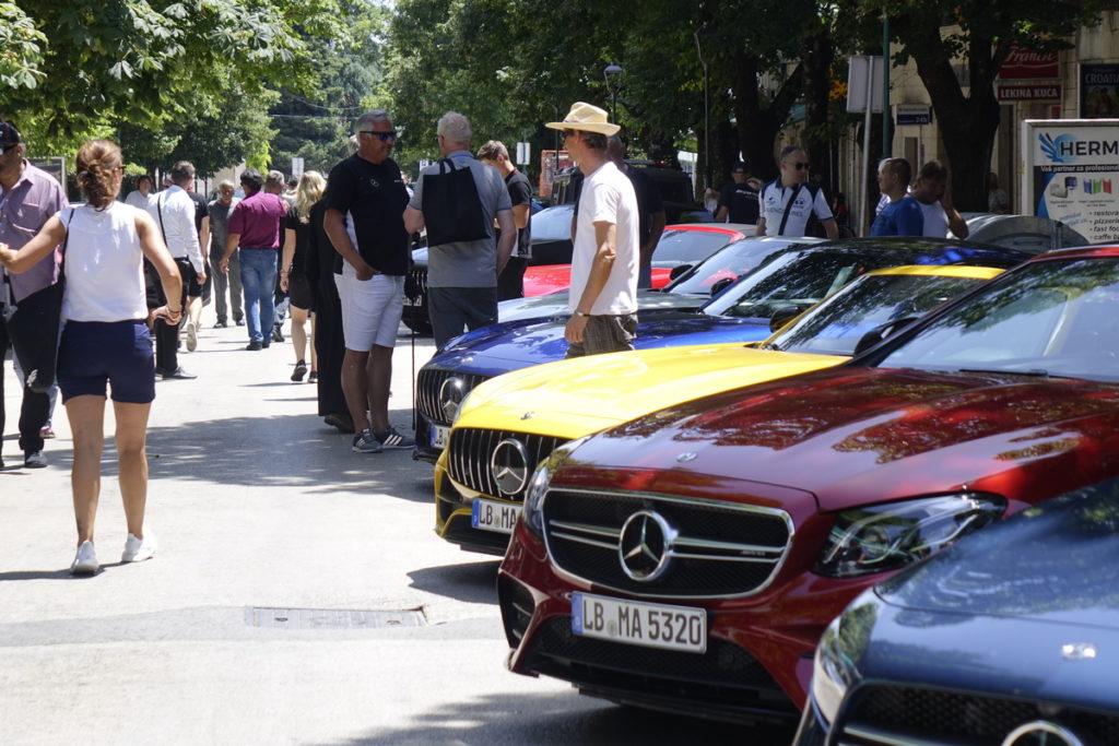 Izložba Mercedesa u Imotskom