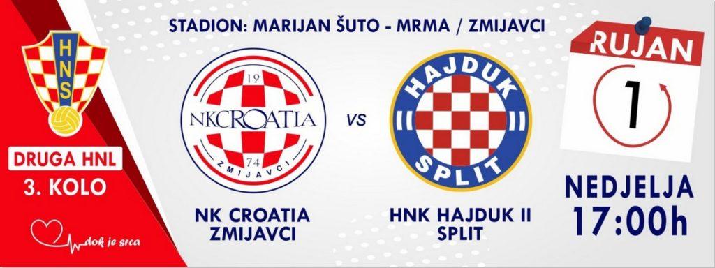 Pretprodaja ulaznica za utakmicu NK Croatia – HNK Hajduk II