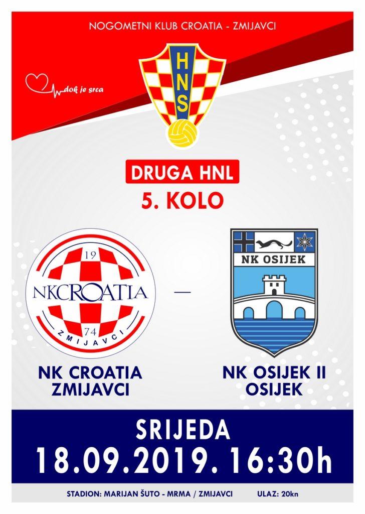 2. HNL: NK Croatia – NK Osijek II