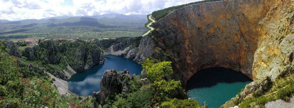 Nova ispitivanja dotoka vode u Modro i Crveno jezero