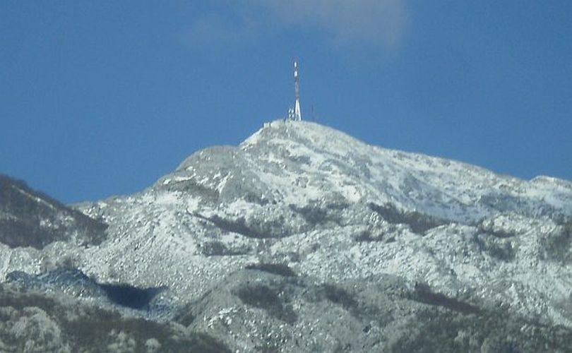 Snijeg na Biokovu