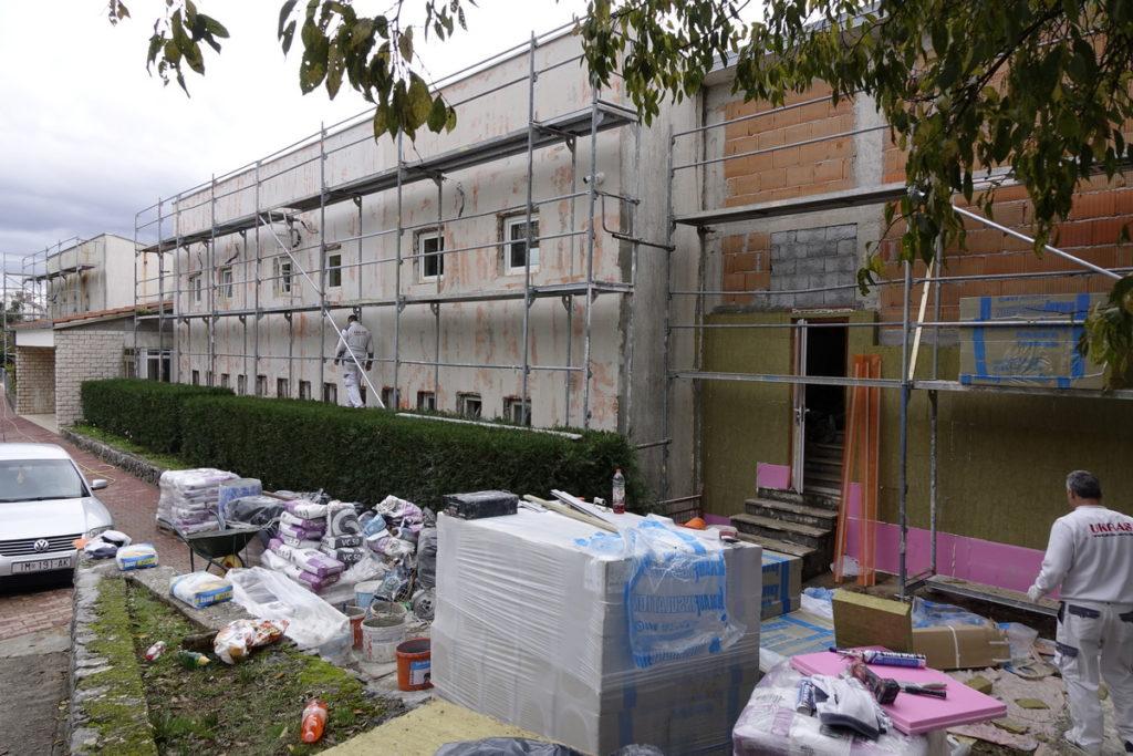 Započela obnova fasade Dječjeg vrtića u Imotskom