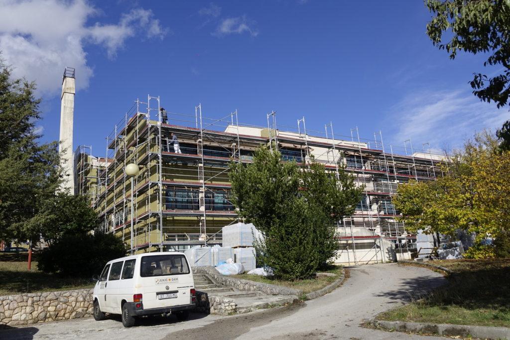 Energetska obnova zgrade srednje škole