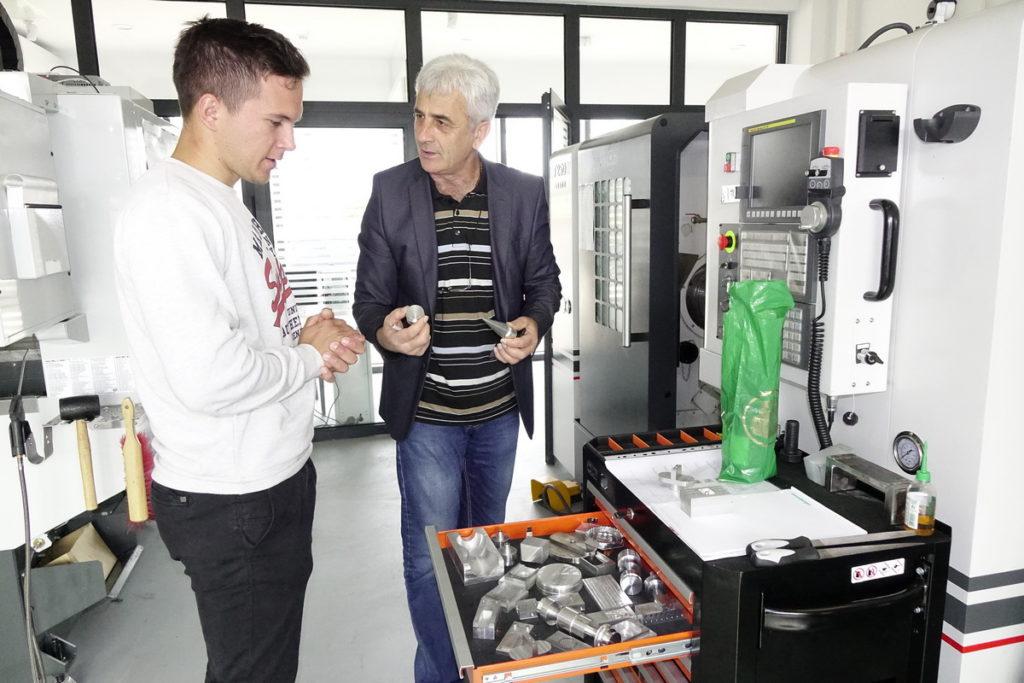 Mario Ljubičić posjetio Tehnološki park u Posušju