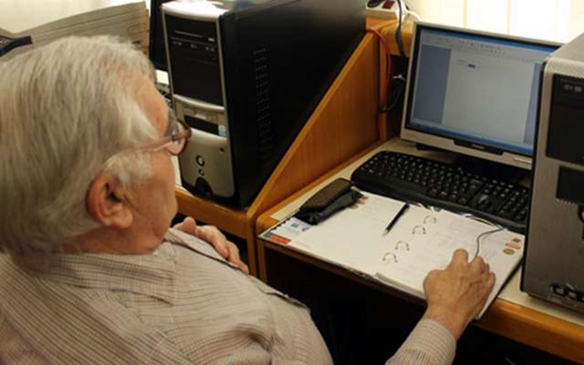 Informatička obuka imotskih umirovljenika
