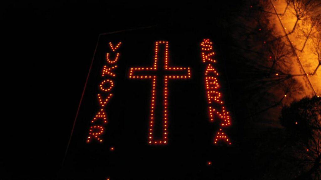 Tri tisuće lampiona za Vukovar i Škabrnju u Poljicima
