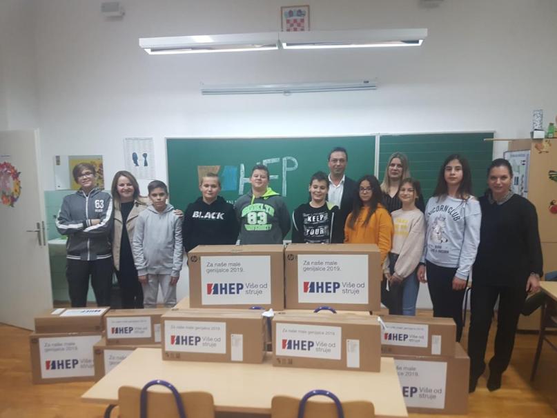 """Nova računala Za naše male genijalce iz OŠ """"Josip Vergilij Perić"""""""