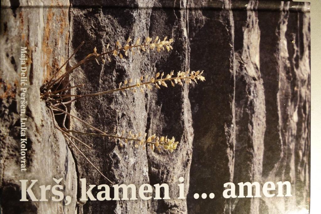 """Iz tiska izišla nova knjiga """"Krš,kamen i …amen"""""""