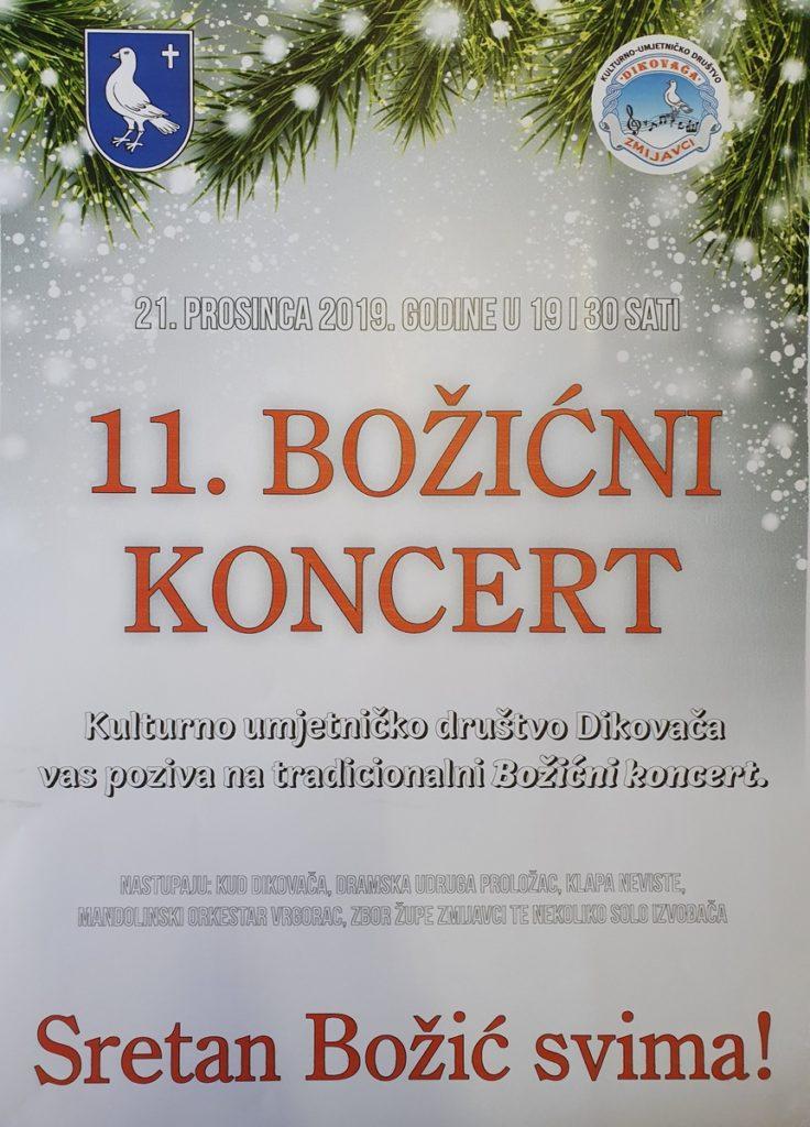 Božićni koncert u Zmijavcima