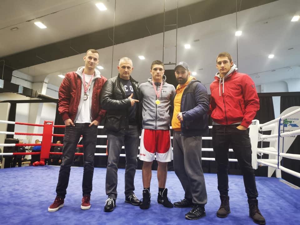 Tino Patrlj – seniorski prvak Hrvatske u boksu