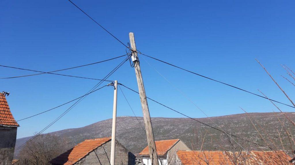 Užasne telefonske instalacije u Slivnu