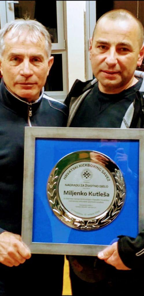 Miljenku Roši Kutleši nagrada za životno djelo