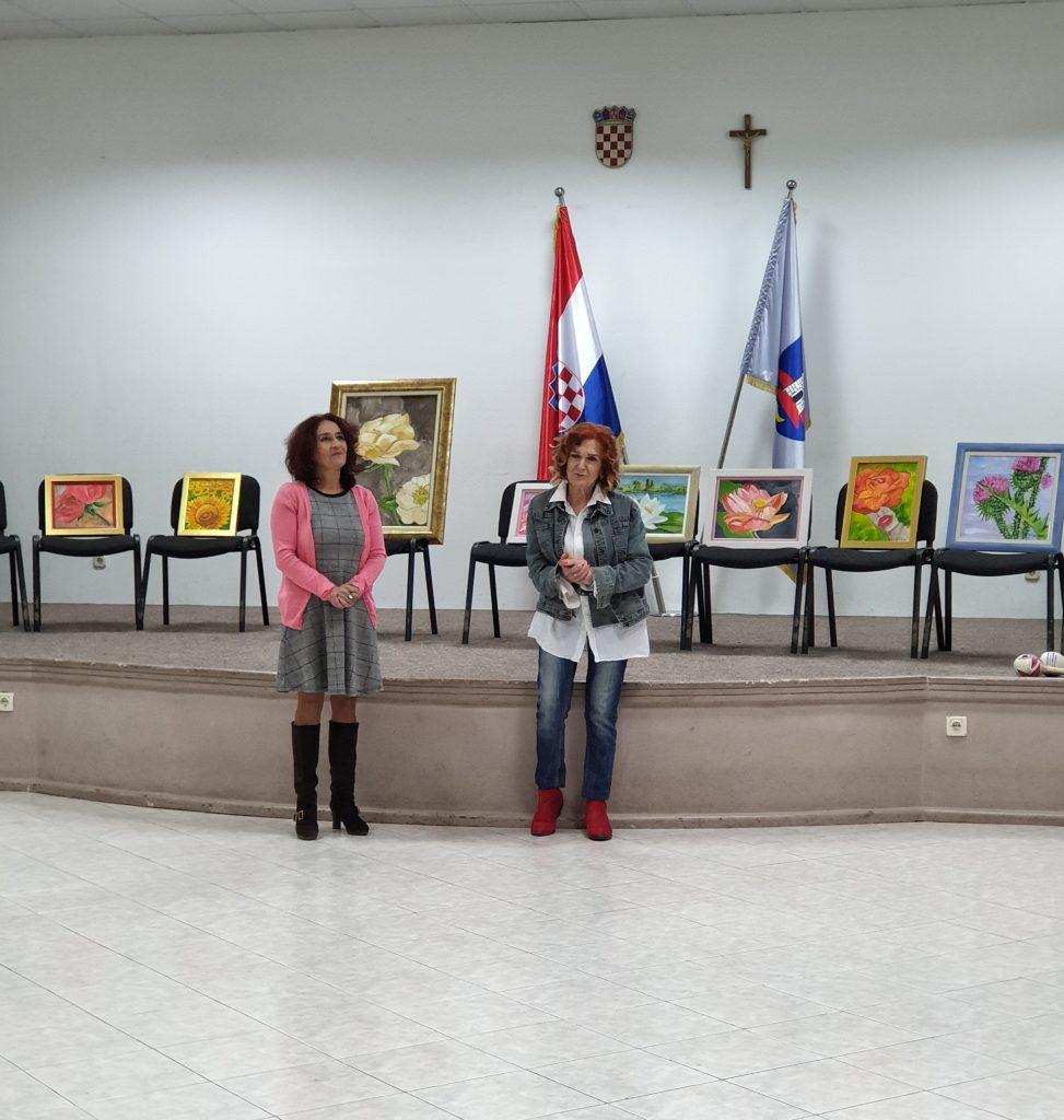 Otvorena izložba slika Valerije Bjelobradić