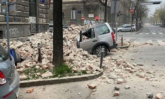 Potresi u Zagrebu: Velike štete, ima ozlijeđenih