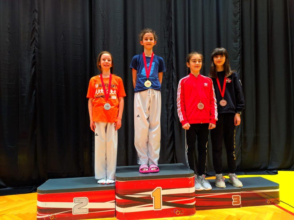 Petra Jerković osvojila zlatnu medalju na nacionalnim kadetskim kvalifikacijama