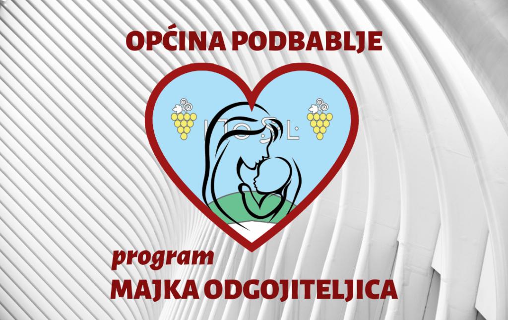 """Općina Podbablje predstavila program """"Majka odgojiteljica"""""""