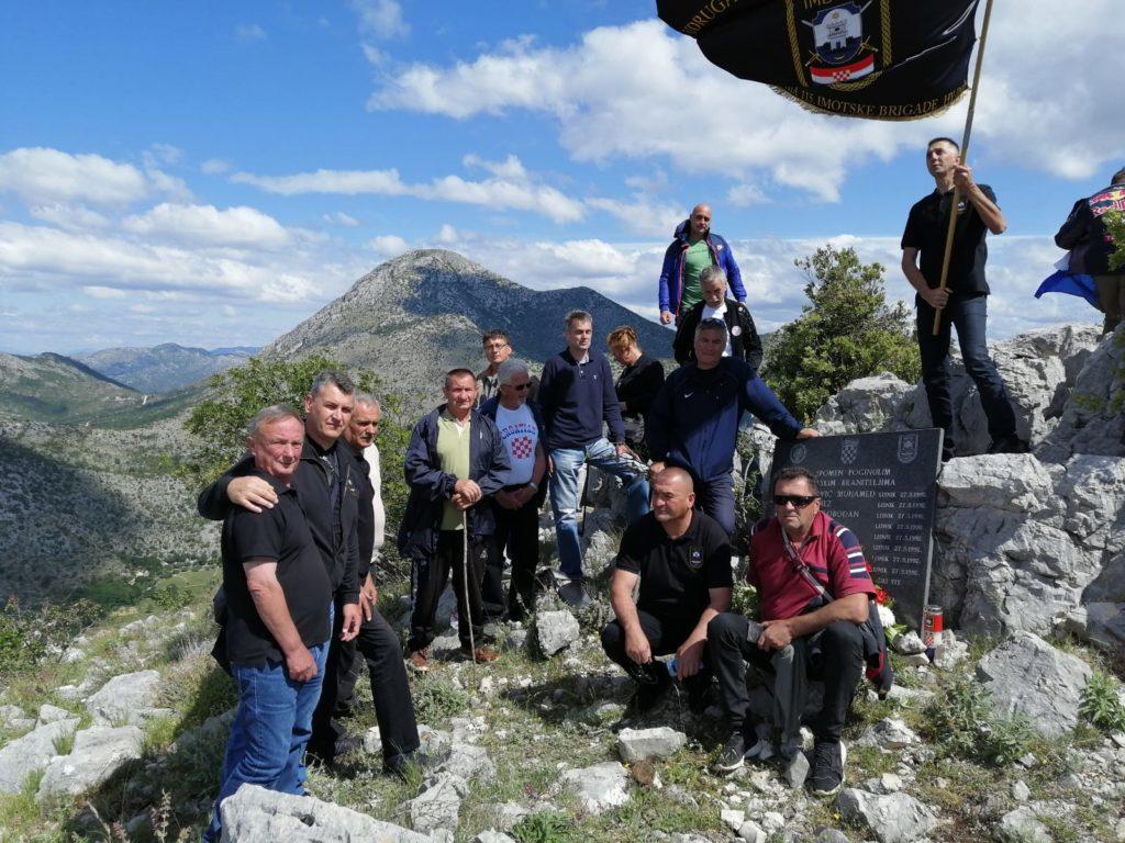 Imotski branitelji obilježili 28. obljetnicu deblokade Dubrovnika na Lisniku
