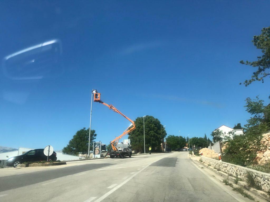 Rekonstrukcija javne rasvjete u Imotskom