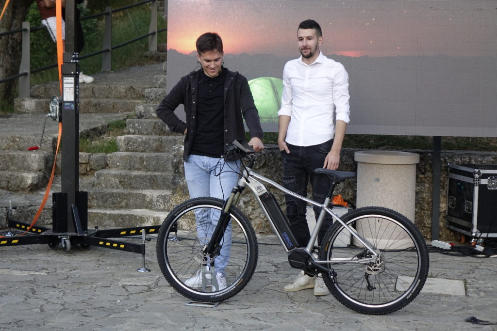 Mario Ljubičić predstavio svoj pametni bicikl