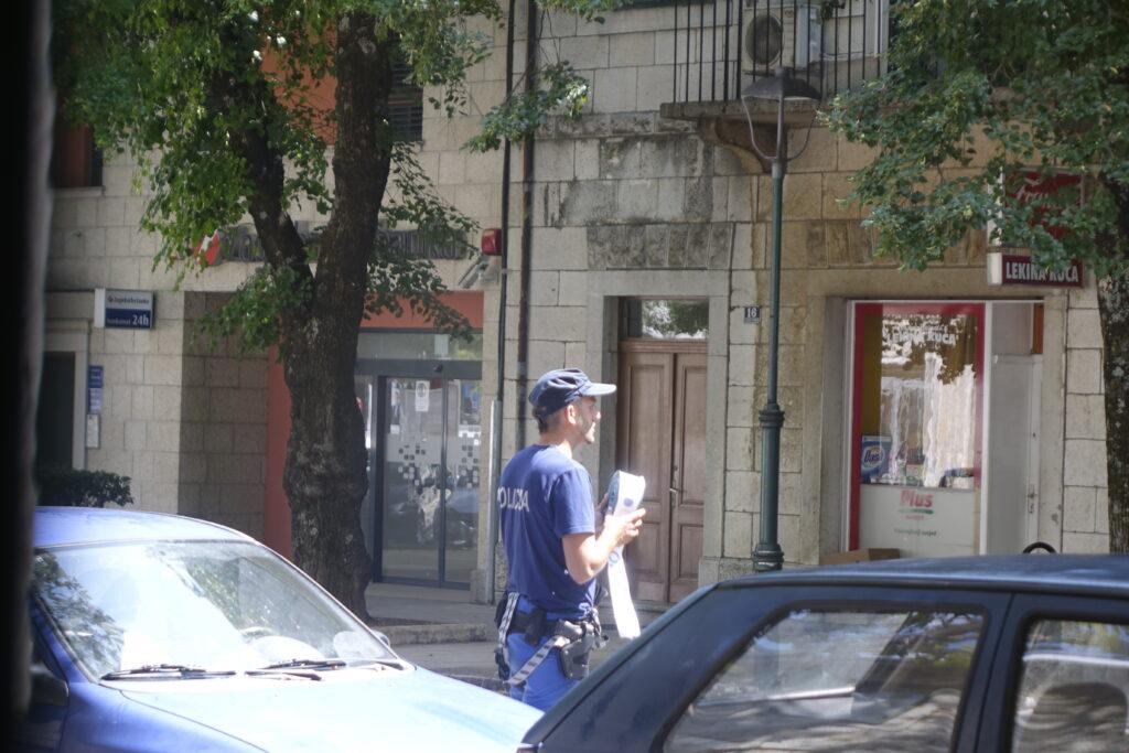 Dojava o bombi u Zagrebačkoj banci