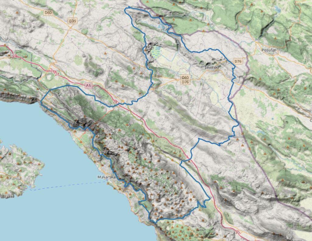 Osnivanje Geoparka Biokovo-Imotska jezera