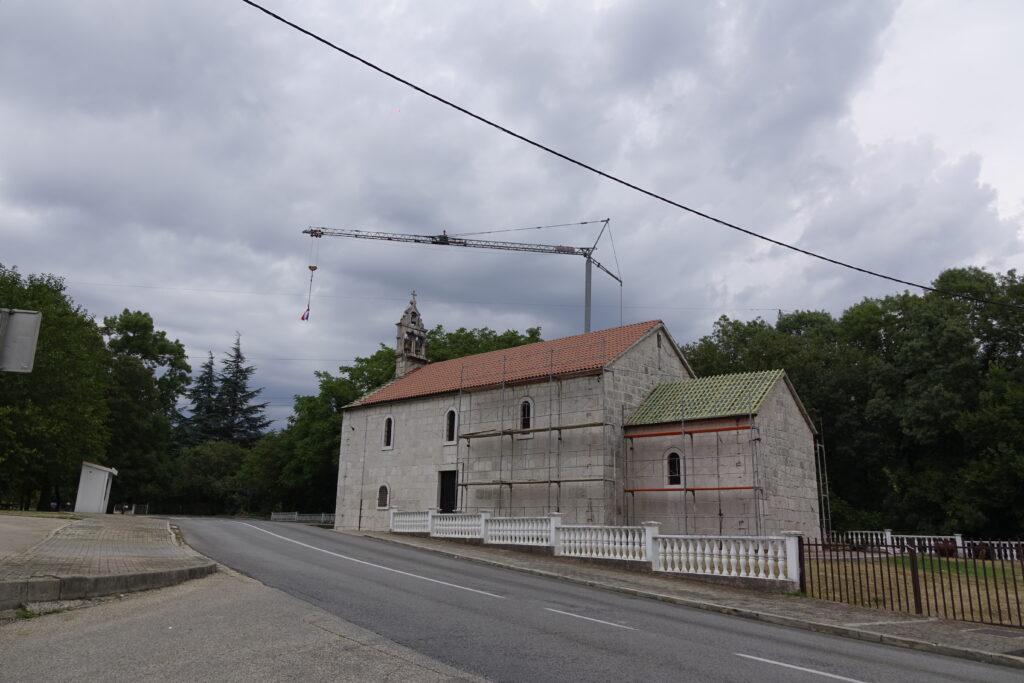 Obnavlja se crkva Velike Gospe na Vrljici