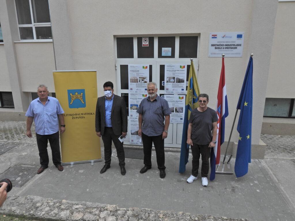 Završena energetska obnova zgrade imotskih srednjih škola