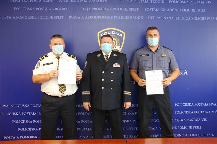 Svečano obilježen Dan policije i blagdan sv. Mihovila; nagrađeni imotski policajci