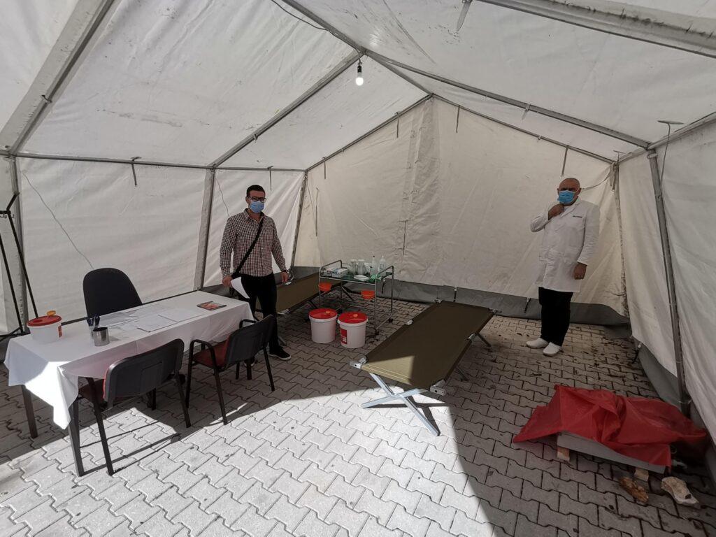 Stožer civilne zaštite postavio Covid ambulantu