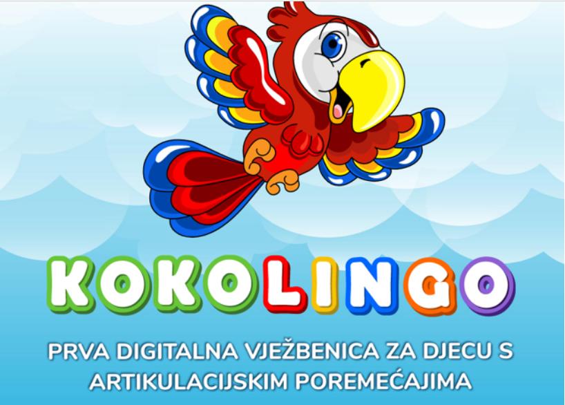 KOKOLINGO, prva hrvatska digitalna artikulacijska vježbenica; prijavite se za besplatan webiner