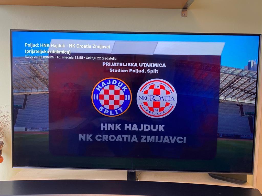 2. HNL: Hajduk – Croatia 1:1