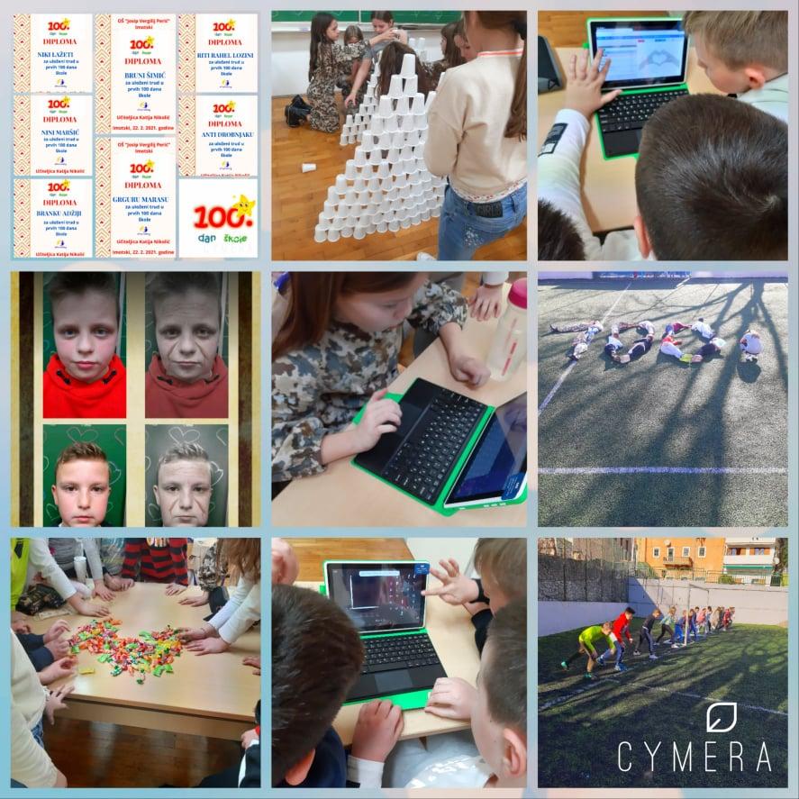 eTwinning projekt – 100. dan škole