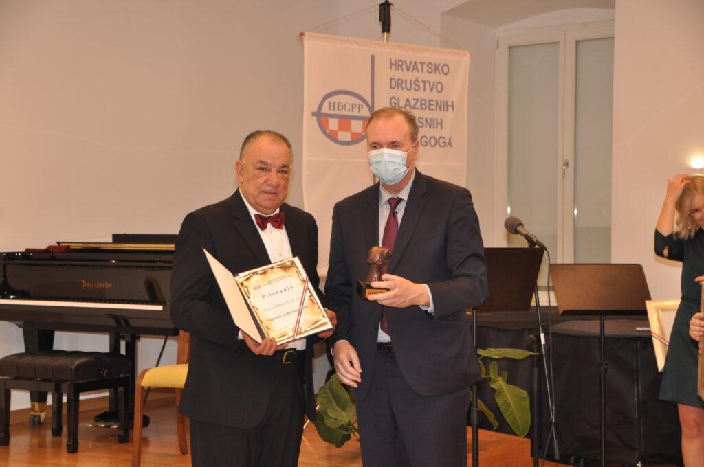 Veliko priznanje prof. Ivanu Gliboti Crnom: Nagrada za životno djelo