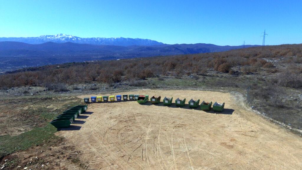 Na Kozjačiću postavljeni kontejneri za odvojeno prikupljanje otpada