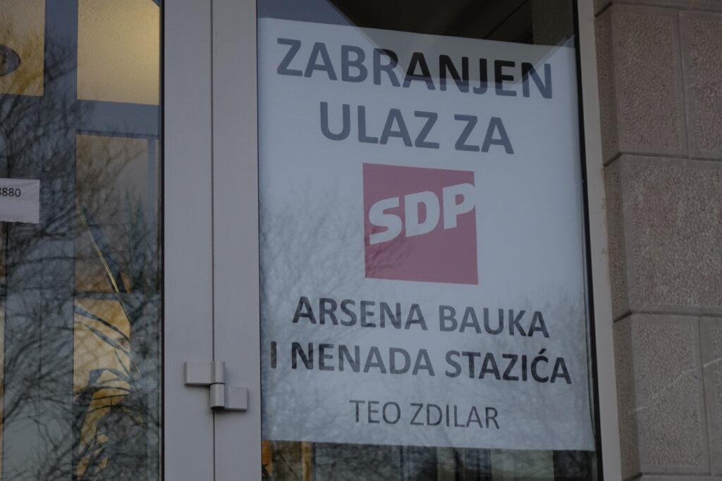 Hotel u Imotskom zabranio ulaz SDP-u