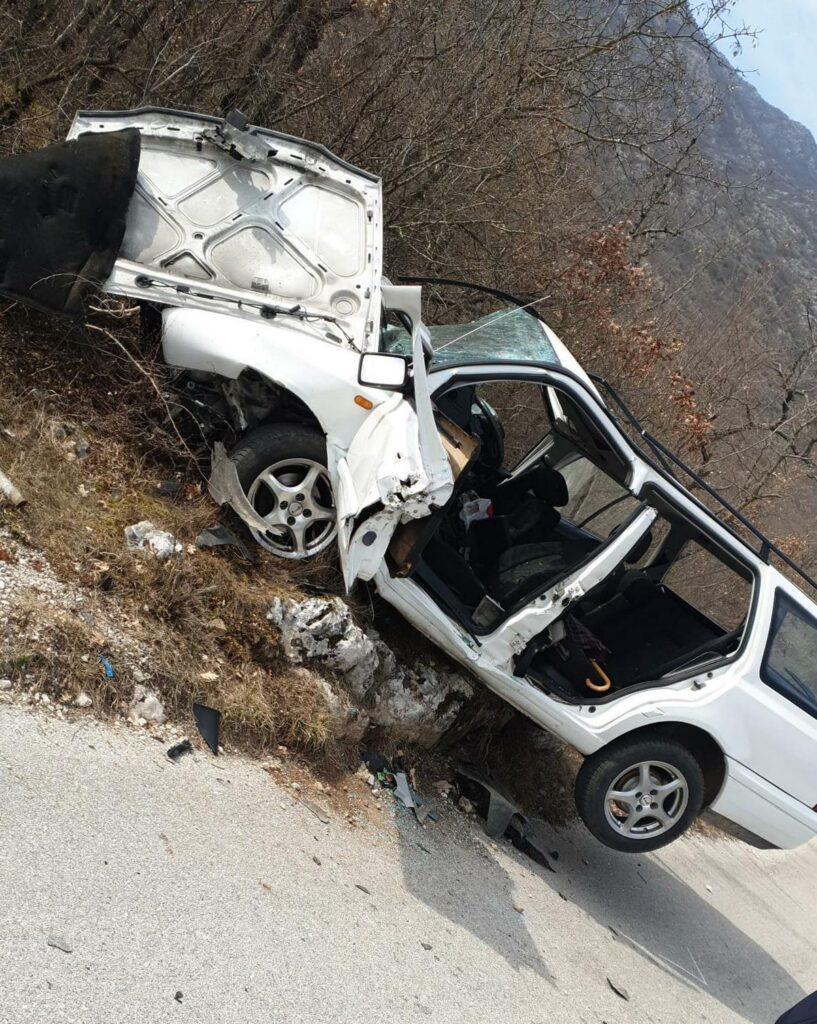 Prometna nesreća u Zagvozdu