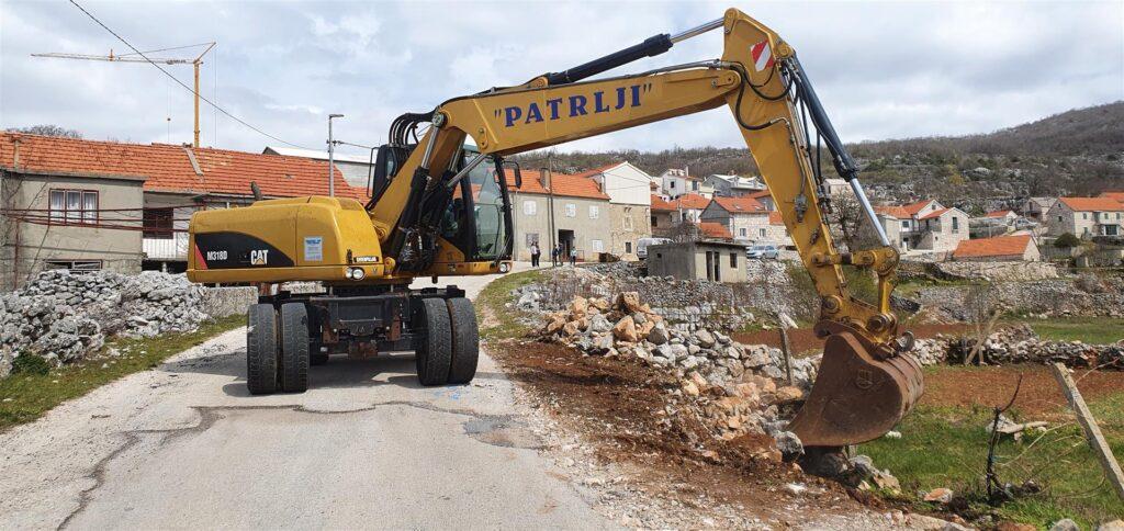 Općina Zagvozd: Rekonstrukcija prometnice kroz zaseok Rake