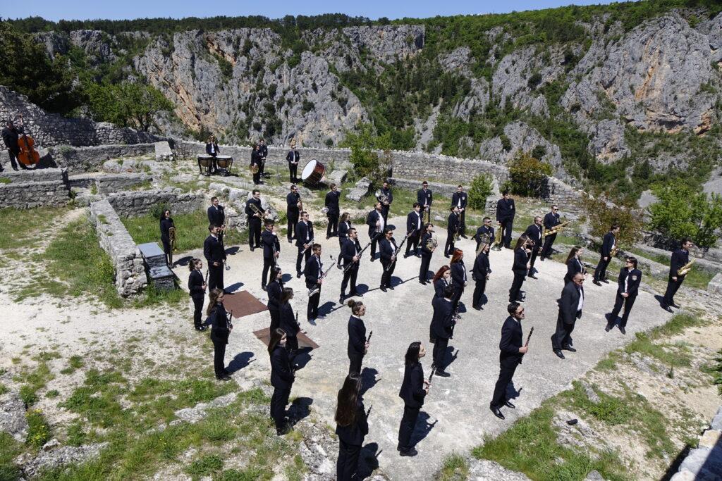 Spot Gradske glazbe službena čestitka za Dan Europe