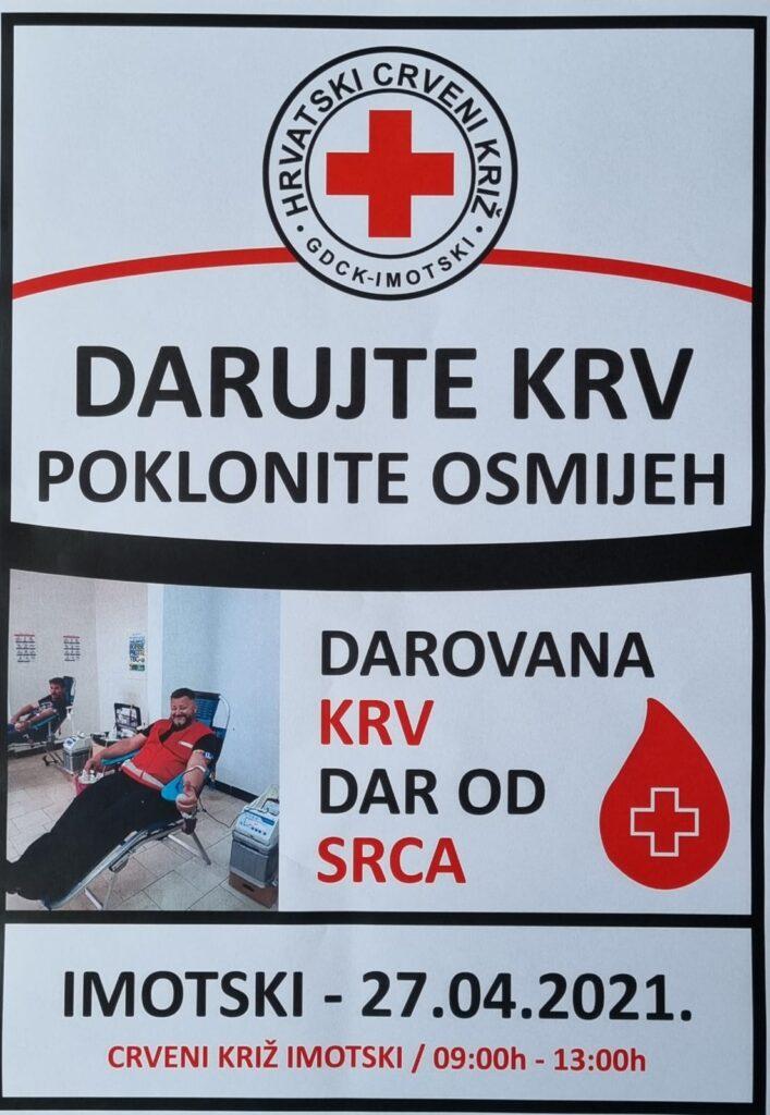 Druga ovogodišnja akcija darivanja krvi