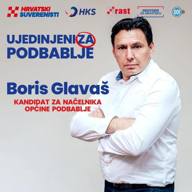 Boris Glavaš kandidat za načelnika Općine Podbablje