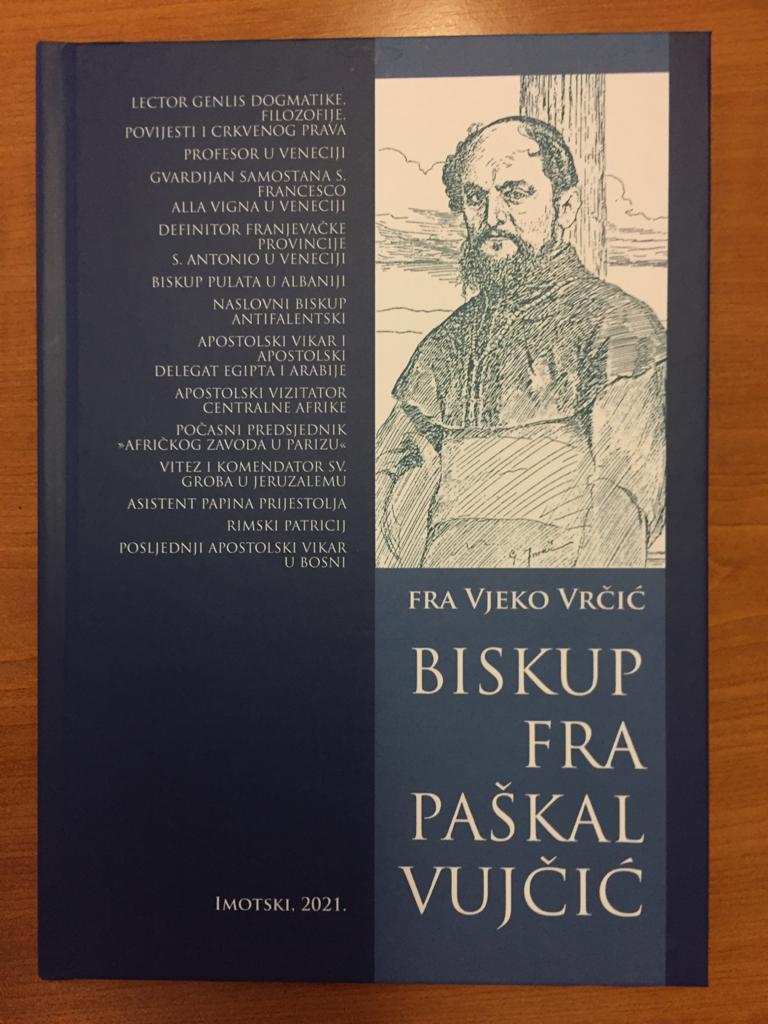 Izišle su dvije nove knjige fra Vjeke Vrčića