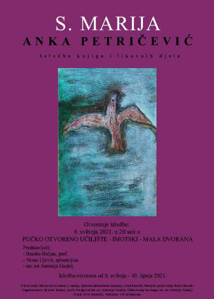 S. Marija daruje Gradu Imotskom 85 likovnih djela