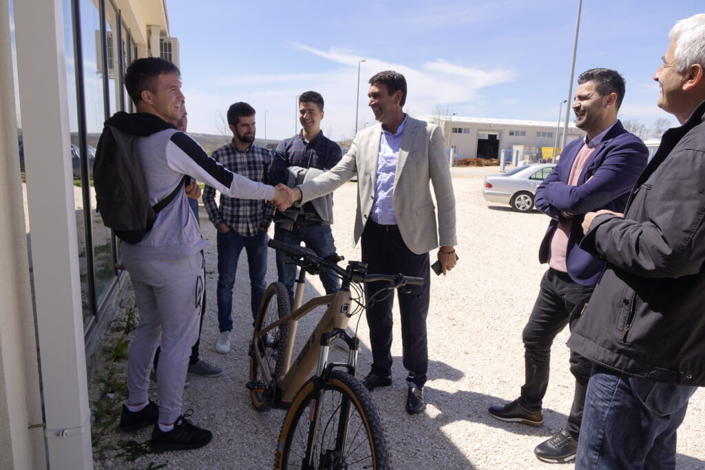 Delegacija grada Imotskog posjetila Tehnološki park u Posušju