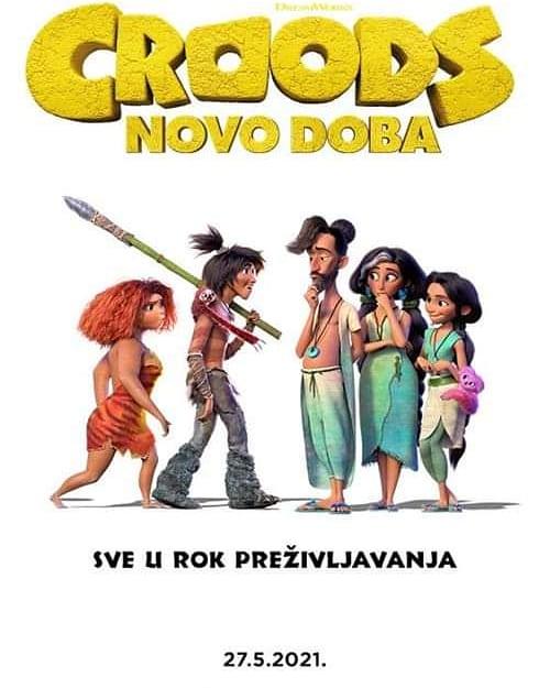 """Kino Mediteran: """"CROODS: Novo doba"""""""